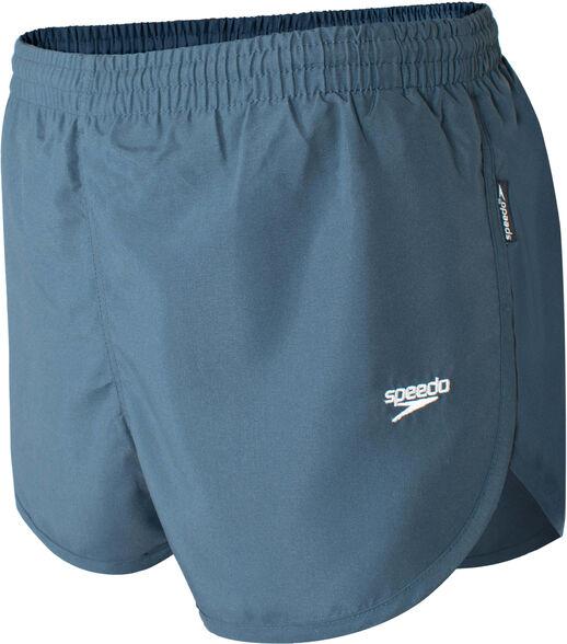 מכנסי ריצה וספורט לגבר בצבע אפור כהה של חברת speedo, בגזרה נוחה עם שסע, , large image number null