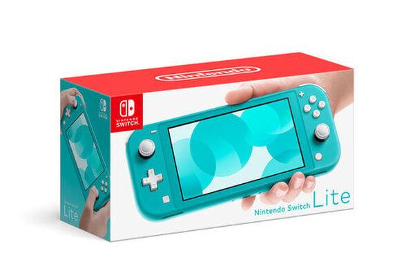 קונסולת נינטנדו סוויץ' לייט – טורקיז Nintendo Switch Lite Turquoise , , large image number null