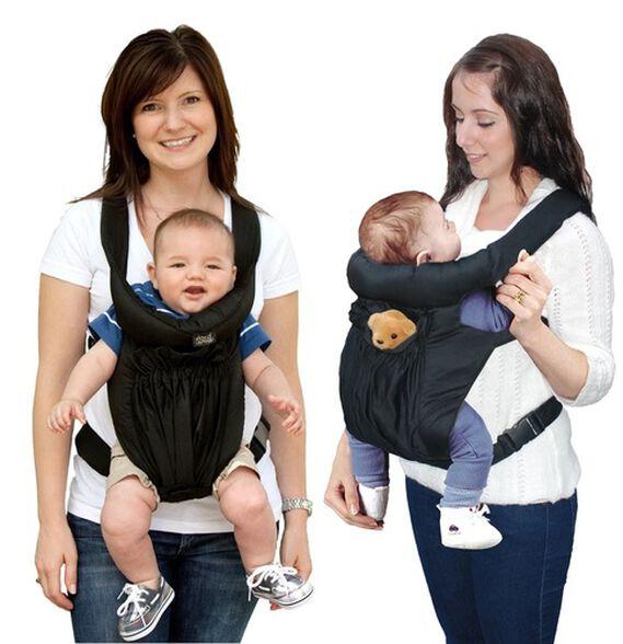 """מנשא תינוק דו-כיווני Cuddle עם ריפוד ראש מעובה מגיל לידה ועד 15 ק""""ג, , large image number null"""