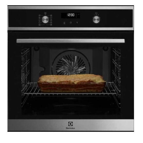 תנור בילד אין פירוליטי טורבו אקטיבי עם 9 מצבי בישול ואפיה תוצרת גרמניה  מבית Electrolux דגם EOP6524X , , large image number null