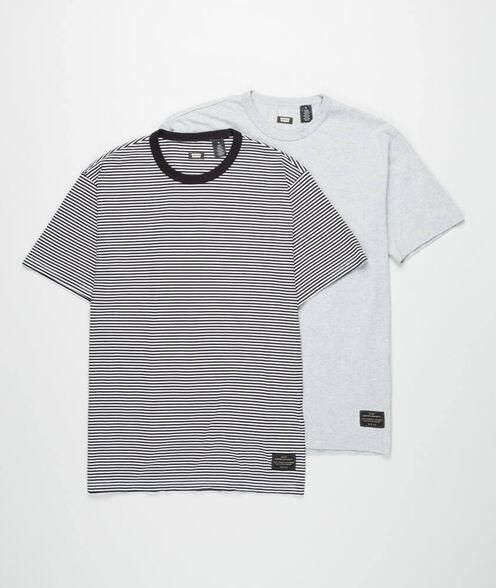 מארז 2 חולצות LEVI'S לגבר- שחור פסים ואפור, , large image number null