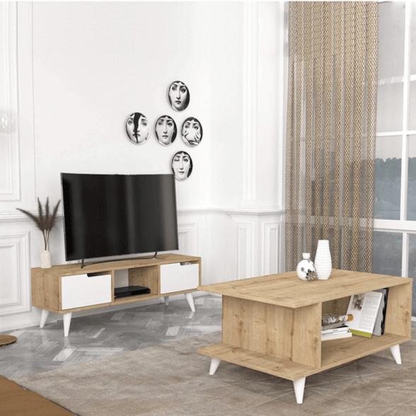 סט מזנון ושולחן דגם פטל מבית Geva Design, , large image number null