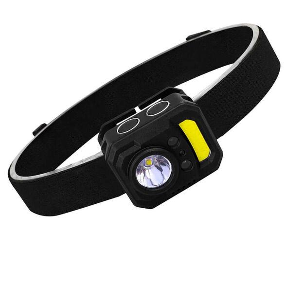 פנס ראש טקטי עם LED נטען מבית Discovery   דגם DS-230, , large image number null