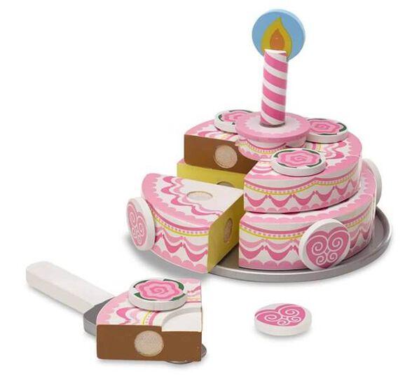 מליסה אנד דאג עוגה 3 שכבות ורודה   דגם 4069, , large image number null