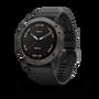 שעון דופק מולטי ספורט מבית גרמין! fenix 6X,Sapphire,Carbon Gray DLC w/Black Band  | דגמי 2019 | יבואן רשמי