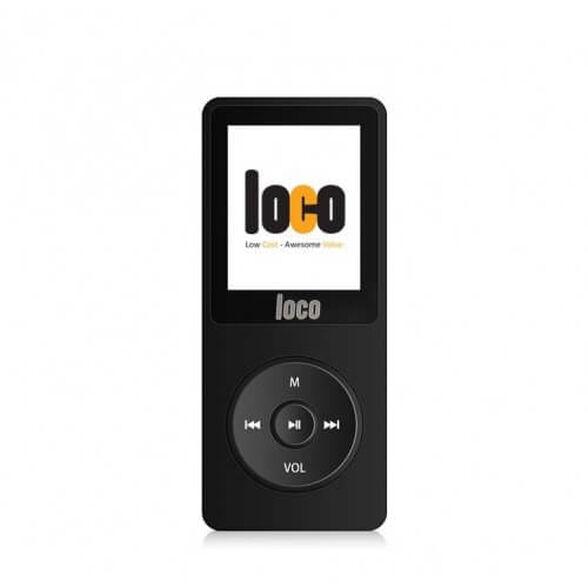 """נגן MP3 תומך עברית באופן מלא - 4GB זכרון מובנה - מסך ענק 1.8"""", כולל נגן שירים, תמונות, רדיו FM, הקלטות – LOCO , , large image number null"""