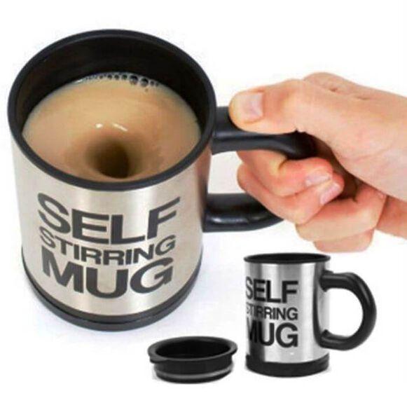 כוס | ספל טרמי מערבב אוטומטי – כוס מקציף (דגם רגיל) המצוין לספורטאים עבור ערבוב תוספי תזונה, , large image number null