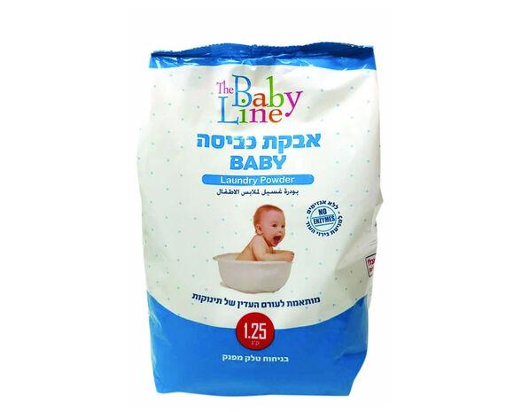 """שלישיית אבקת כביסה לתינוק 1.25 ק""""ג, , large image number null"""