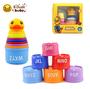משחק מגדל כוסות לילדים | B.Duck