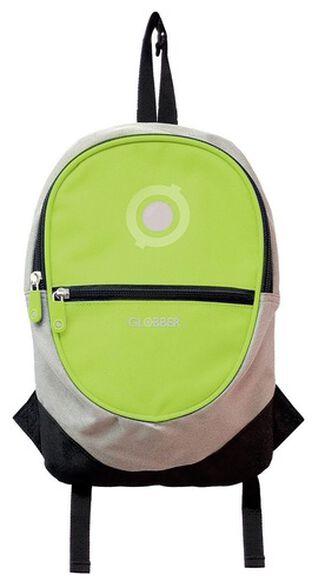 תיק גב עם רצועות 4 ליטר לתליה נוחה על גבי קורקינט או אופניים - צהוב לימון, , large image number null