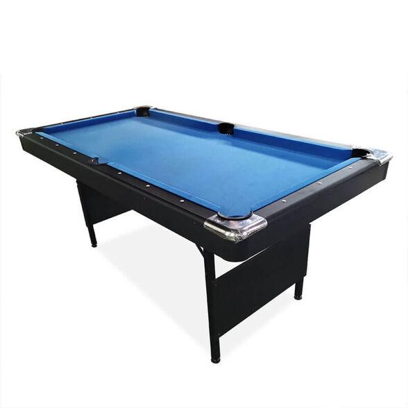 שולחן משחק ביליארד מתקפל איכותי במיוחד בעיצוב עץ מרהיב דגם BLUE SKY, , large image number null