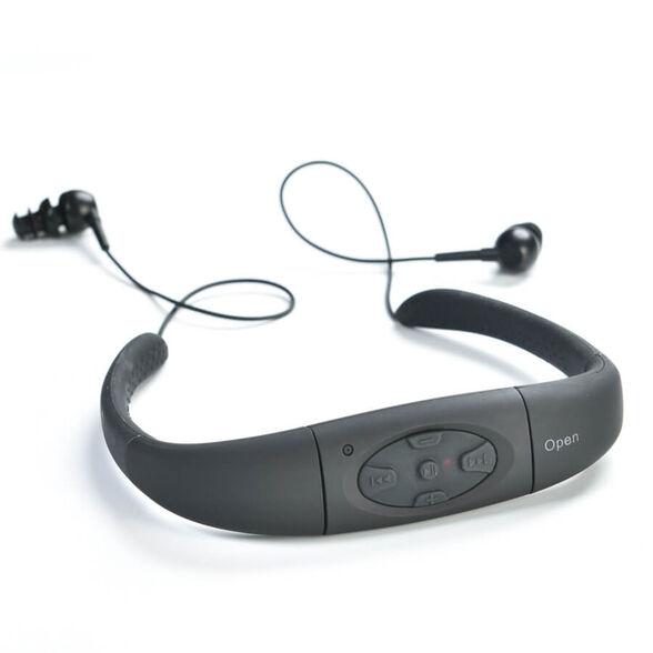 נגן מוסיקה MP3 נגד מים   מתאים לשחיה, גלישה ולכל פעילות ספורטיבית אחרת   2 נפחים לבחירה 8GB , 4GB, , large image number null