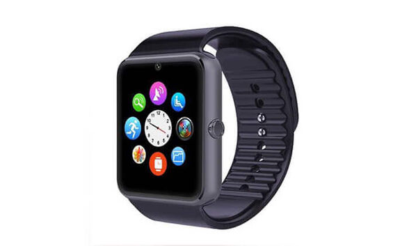 שעון חכם עם מסך מגע תומך סים הניתן לחיבור לסמארטפון באמצעות Bluetooth, , large image number null