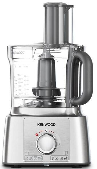 מעבד מזון + אביזר לחיתוך קוביות KENWOOD בעוצמה של 1000W בעל מהירות משתנה + פולס | קערה בנפח 3 ליטר | מגהץ אדים מדגם  STP50.WP  מתנה!  , , large image number null