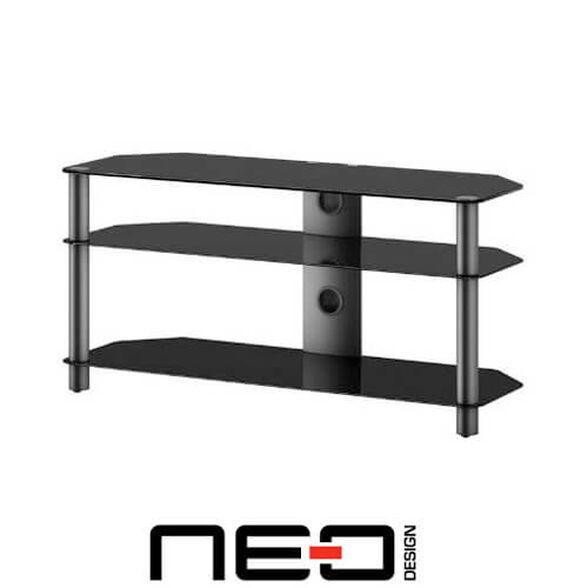 שולחן מעוצב למערכות אודיו וידאו ומסכים עד ''46 מבית NEO דגם 3110, , large image number null