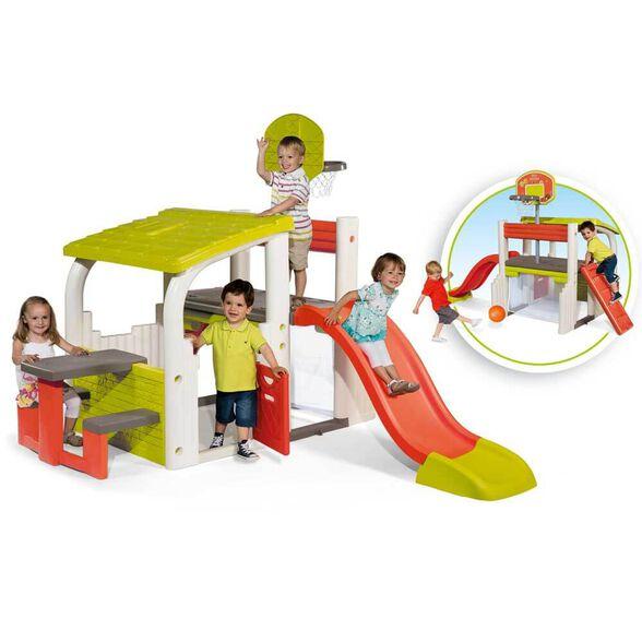 מרכז המשחקים של SMOBY כולל את את כול מה שילדים צריכים כדי לשחק בכיף ובבטחה בגינה | תוצרת צרפת, , large image number null