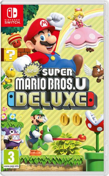 משחק NEW SUPER MARIO BROS. U DELUXE, , large image number null