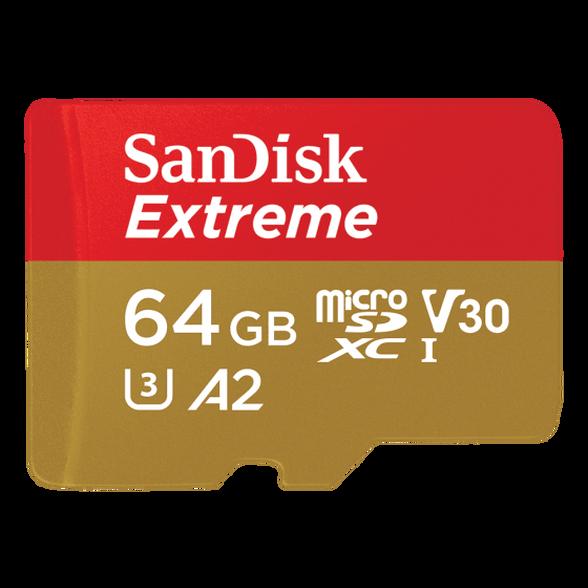 כרטיס זיכרון SanDisk Extreme microSDXC UHS-I 64GB , , large image number null