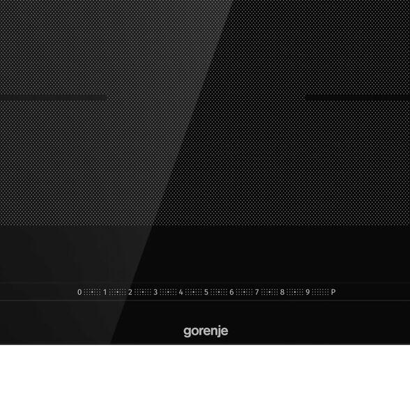 """כיריים אינדוקציה 80 ס""""מ , פלקס מלא( 2 גשרים ),עם תכניות בישול טיגון צליה אוטומטיות מבית GORENJE דגם IS846BG , , large image number null"""