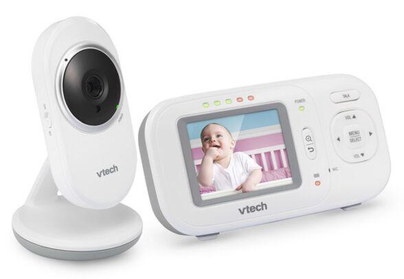 אינטרקום דיגיטאלי דו-כיווני לתינוק VM320 עם מצלמה וחישן טמפרטורה, , large image number null