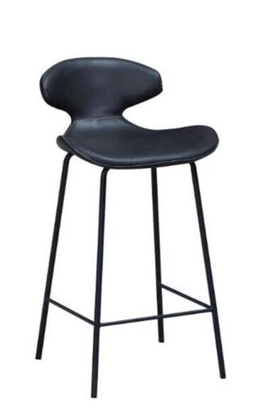 """כיסא בר בריפוד דמוי עור במגוון צבעים לבחירה דגם דיאנה מבית HOME OFICCE_אפור-65 ס""""מ, , large image number null"""