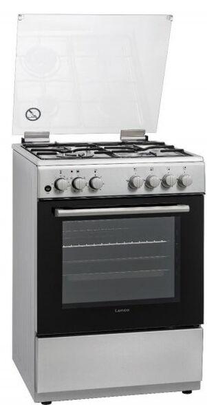 תנור אפייה משולב גז עם 6 תוכניות בישול בגימור נירוסטה מבית Lenco דגם LFS-6099IXT , , large image number null