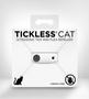 Tickless - קולר אלקטרוני נטען עם פנס לד להרחקת פרעושים וקרציות - לחתולים   ניתן להוסיף תכשיר טבעי להדברת מזיקים