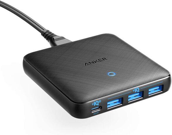מטען 4 יציאות Anker PowerPort 65WSlim 3USB+USB-C, , large image number null