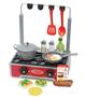 ערכת בישול שולחני מבית Melissa & Doug | כל מה שצריך לארוחת בוקר צהריים וערב טעימה ביותר! | מכיל 19 חלקים לחווית בישול מושלמת | משלוח חינם!
