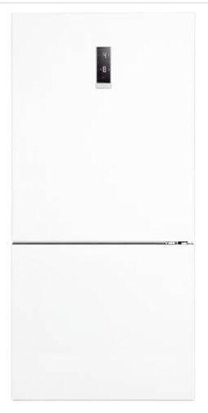 מקרר מקפיא תחתון NO FROST בנפח 571 ליטר תוצרת Fujicom בגימור לבן   דגם FJ-NF653W  , , large image number null
