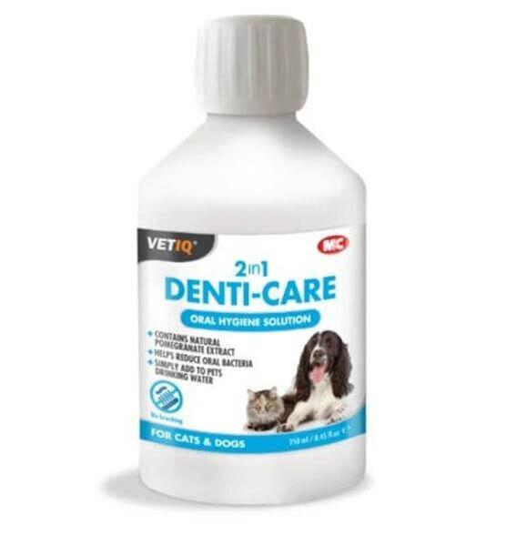 VetIQ - מי פה רפואיים לכלבים וחתולים לשמירה על היגיינת הפה ,הסרת פלאק והפחתת חיידקים, , large image number null