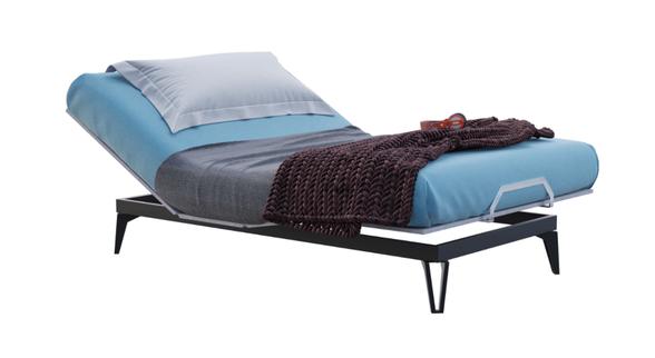 מיטת נוער 120/200 מתכווננת Slim בעיצוב צעיר ומודרני | SEALY | מתנה!! כרית דו צדדית מביתSEALY לשינה מושלמת דגם Copper infused, , large image number null
