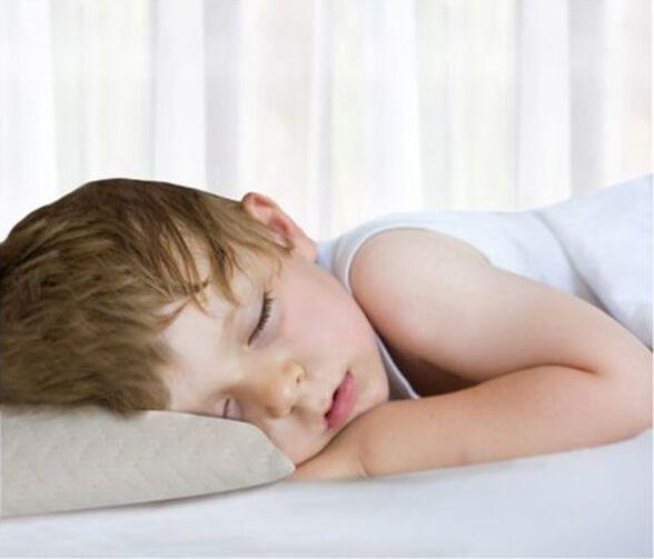 כרית לתינוק עשויה ויסקו עם ציפית בד 100% כותנה, , large image number null