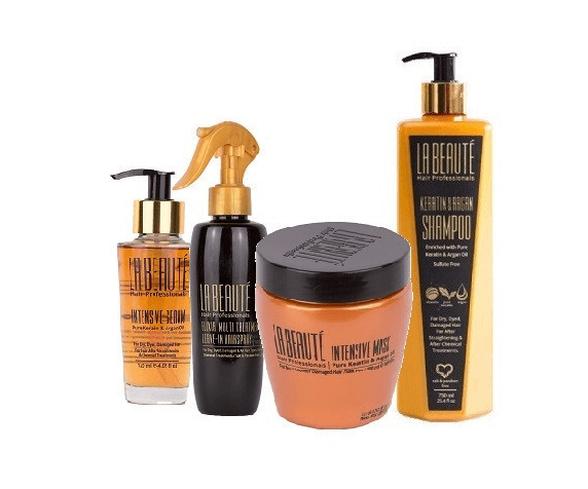 ערכת מוצרים אולמיטיבית לטיפוח השיער לה בוטה | 4 מוצרים, , large image number null