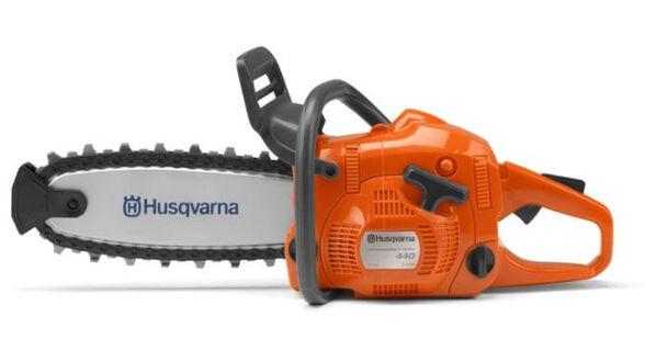 משור ילדים Toy Chainsaw צעצוע עם צליל של משור ושרשרת פלסטיק נעה דגם הוסקוורנה 522771101, , large image number null