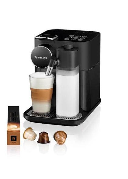 מכונת קפה NESPRESSO גראן לטיסימה בגוון שחור דגם F531   5 שרוולי קפה מתנה ברכישת מכונת קפה NESPRESSO  מסדרת ORIGINAL עם פתרון חלב בלבד , , large image number null