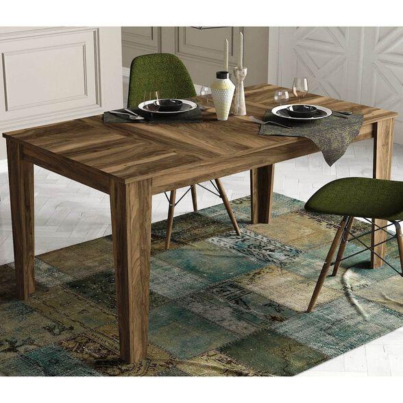 שולחן פינת אוכל מעוצב דגם Costa מבית Geva Design | צבע לבחירה_אגוז, , large image number null