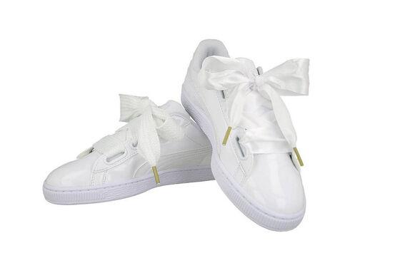 נעלי סניקרס פומה לנשים | צבע לבן | WNS BASKET HEART PATE, , large image number null