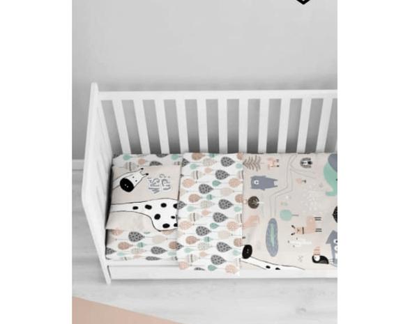 סט מלא למיטת תינוק 140/70   דגם ספארי   מבית ורדינון, , large image number null