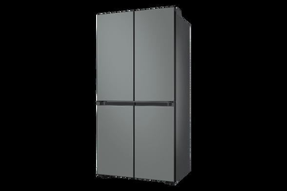 מקרר 4 דלתות 589 ליטר BESPOKE זכוכית אפור מבית SAMSUNG דגם RF70T9113GR , , large image number null