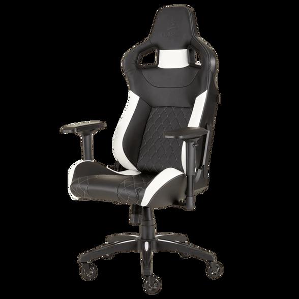 כיסא גיימינג CORSAIR T1 RACE צבע שחור-לבן, , large image number null