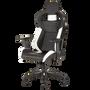 כיסא גיימינג CORSAIR T1 RACE צבע שחור-לבן