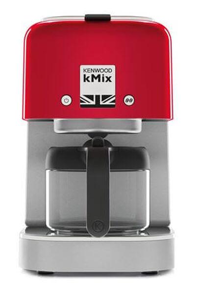 פרקולטור KMIX PICASSO מבית KENWOOD הספק 1000W מיכל מזכוכית בצבע אדום דגם COX750RD  , , large image number null