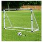 """שער כדורגל דגם 93995 עם מתקן מטרות + מתקן ריבאונד בגודל 183/130/86 ס""""מ"""