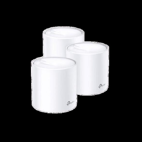 מגדיל טווח Deco X60 MESH AX3000 Wi-Fi 6 Tp-Link (3 יח' באריזה) , , large image number null