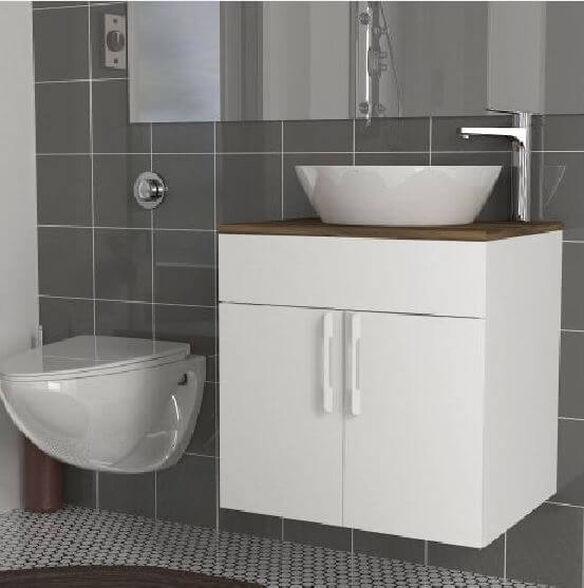 ארון אמבטיה צף דגם ענבר, , large image number null