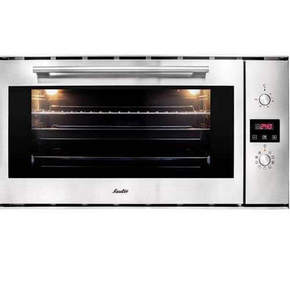 """תנור בנוי לבישול ולאפייה 90 ס""""מ נפח 75 ליטר ובעל 9 תוכניות בישול ואפייה מבית SAUTER דגם SBI9900IX , , large image number null"""