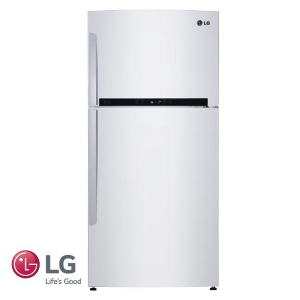 מקרר LG מקפיא עליון 515 ליטר שבת מהדרין דירוג אנרגטי A עם מנוע אינוורטר חסכוני בגימור לבן דגם GR–M6781W , , large image number null