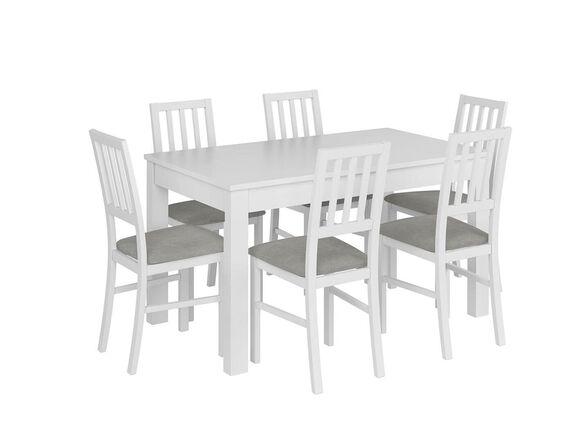 """""""שמרת הזורע"""": פינת אוכל נפתחת יפה ואופנתית, שולחן כולל 4 כיסאות תואמים, דגם אלבינו   אפשרות שדרוג כמות כיסאות, , large image number null"""