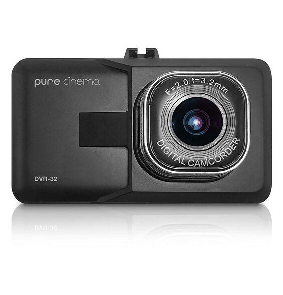 """מצלמת דרך לרכב רכב עם מסך """"3 וחיישן G דגם DVR-32 מבית PURE CINEMA , , large image number null"""